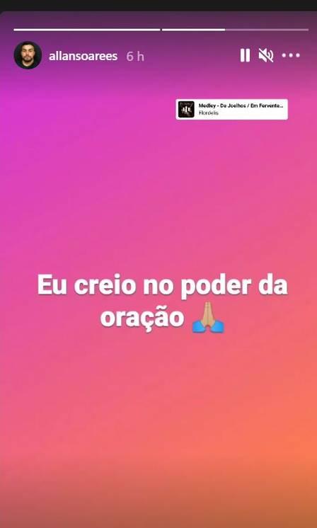 Allan Soares posta sobre Flordelis