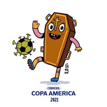 Cepa America e mascote Cloroquito': Brasil como sede da Copa América gera  críticas e memes na internet - Esporte - Extra Online