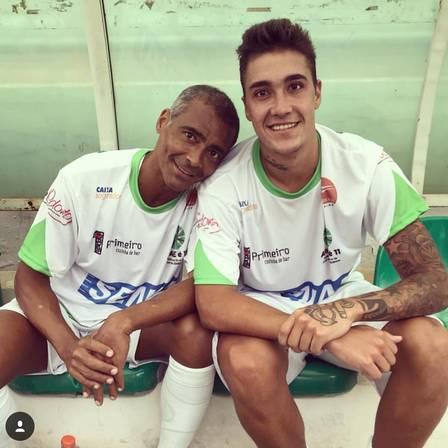 Romário e Romarinho
