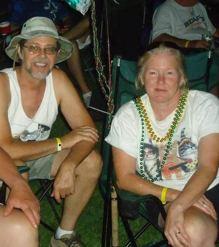 Timothy Satterlee and his wife