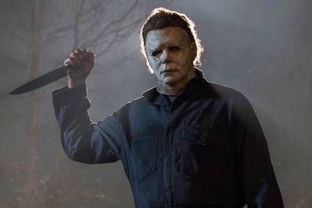 Michael Myers from the 'Halloween' movie series