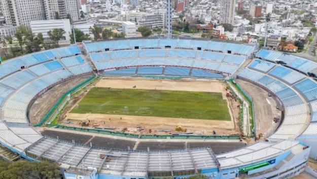 Estádio Centenário, em Montevidéu