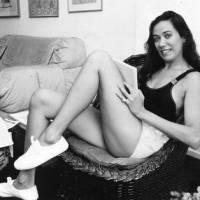 Lilia Cabral posa em momento íntimo em 1987