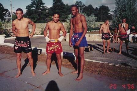 Anderson Silva antes de ser campeão do UFC