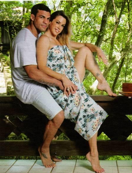 Victor e Joana: dez anos de casados