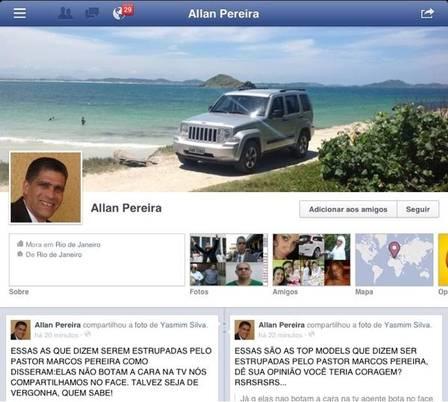 Allan Pereira chama vítimas de