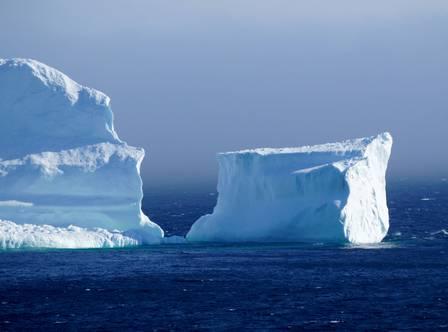 O primeiro iceberg da temporada