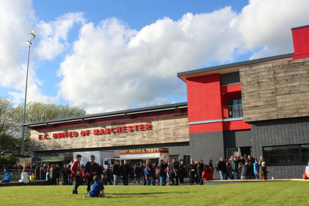 Broadhurst Park é a casa do FC United desde 2015.