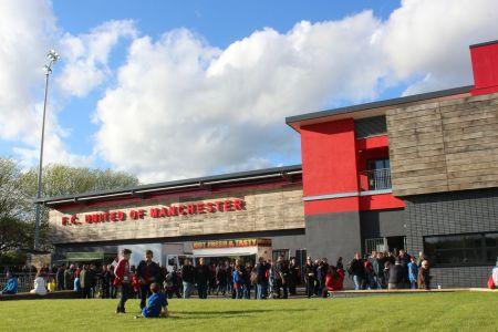 Broadhurst Park é a casa do FC United desde 2015.