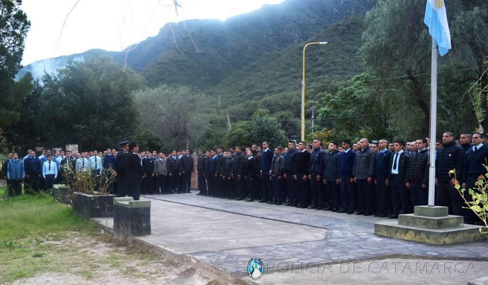 Inició el periodo de adaptación para los Aspirantes a Agentes de Policía en el Campamento de Pirquitas
