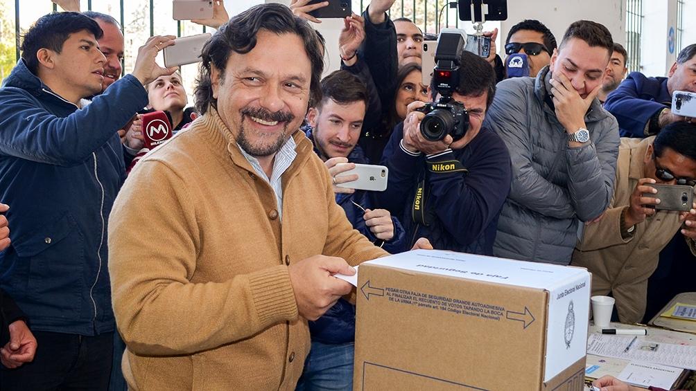 El intendente Gustavo Sáenz, el precandidato a gobernador salteño más votado en las PASO