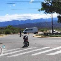 Nuevo choque en la rotonda de Virgen del Valle y México