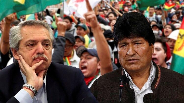 """Muchas gracias pero no"""": Evo Morales agradeció a Alberto Fernández, pero por ahora se quedará en México"""