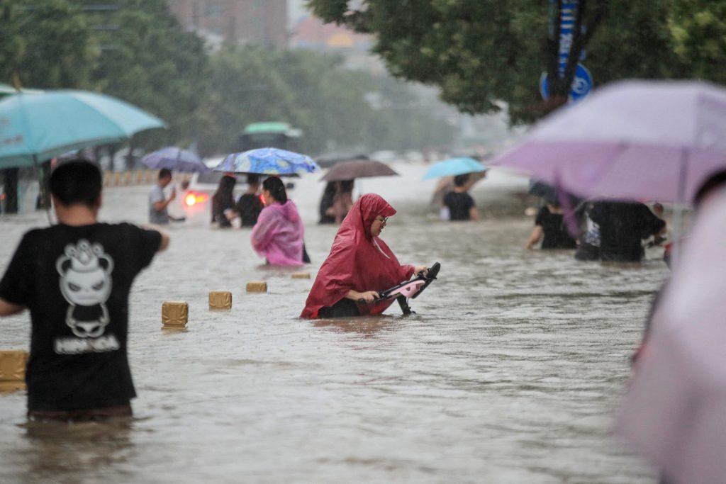 evacuados china