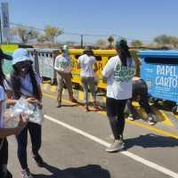 Estudiantes secundarios de Pomán visitaron el Punto Giro