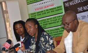 Tengi George-Ikoli at extractive360 official launch