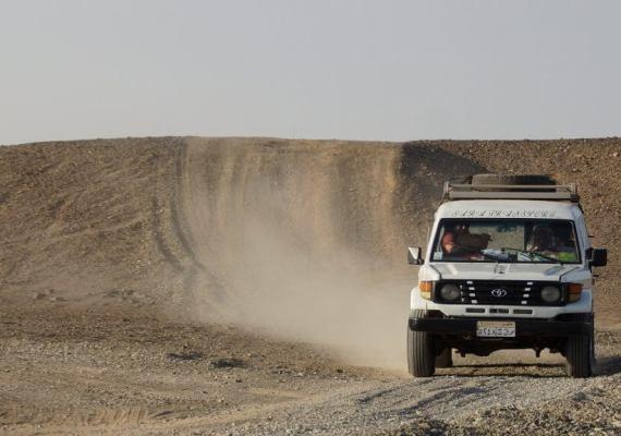 Mega Wüstensafari ab Hurghada grosse Abenteuertour inkl. Abendessen