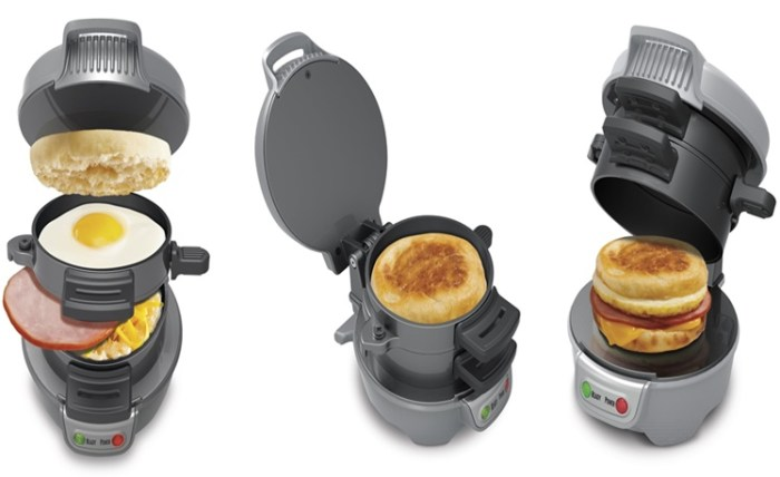 2. Breakfast Sandwich maker