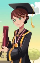 Etudiante diplômée