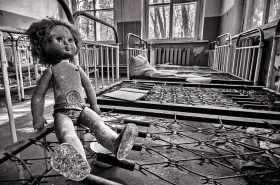 Found at one of the abandoned Kindergartens within the exclusion zone.