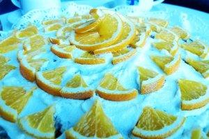 Ranskalainen appelsiinitorttu.