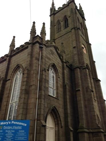 St Mary the Virgin Church in Penzance.