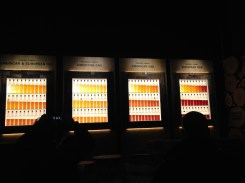 Showing how aging and which barrels affect whisky.
