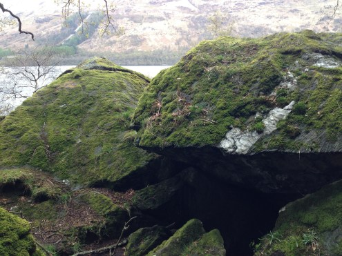 "Rob Roy's ""Cave,"" or at least what we assume was his cave."