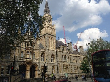 Ealing Town Hall today.