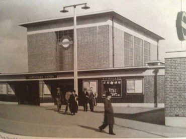 Northfields Station rebuilt in 1932.