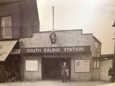 South Ealing Station in 1931.