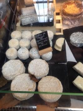 Cheeses from La Marche de Quartier.