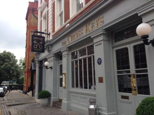 The Cross Keys in Chelsea.