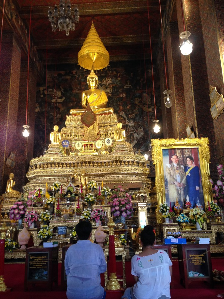 The Ordination Hall of Wat Pho.