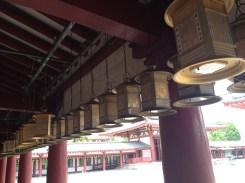 Gorgeous lanterns lined the perimeter.