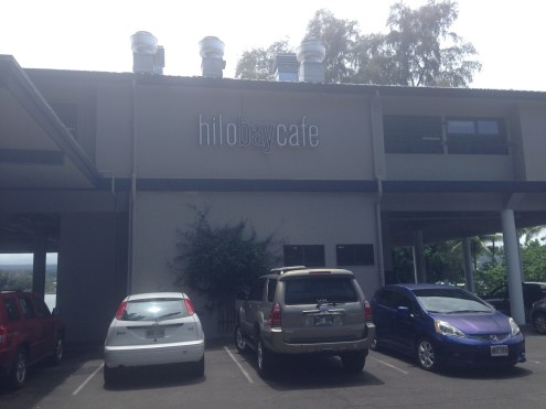 Hilo Bay Cafe, a perfect spot for lunch.