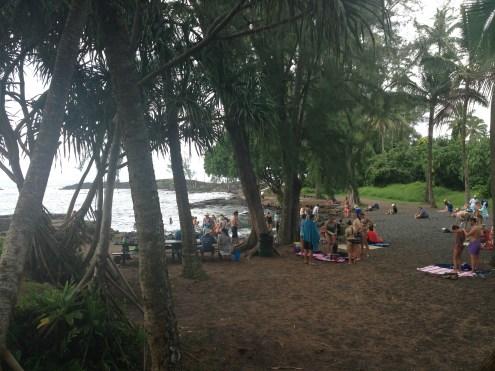 Richardson Beach near Hilo Bay.