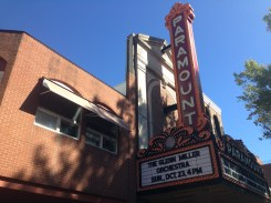 The Paramount Theatre in downtown Charlottesvillle.