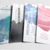 "POSTCARDS & BOOKMARKS 1.5"" x 7"" 16pt coated paper"