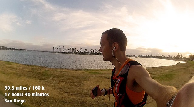 ultra running floris gierman extramilest 100 mile run from long beach to san diego