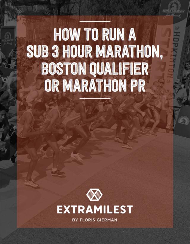 Running a Sub 3 Hour Marathon Guide by Extramilest.com