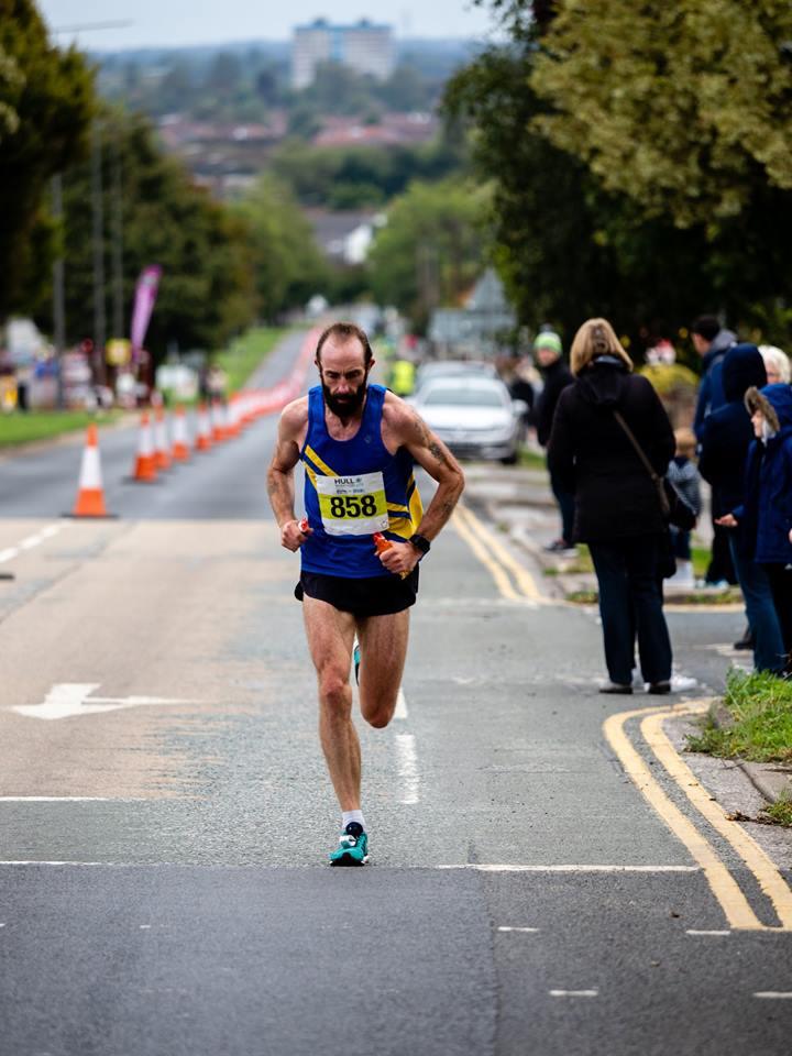 Maffetone running with Jonathan Walter