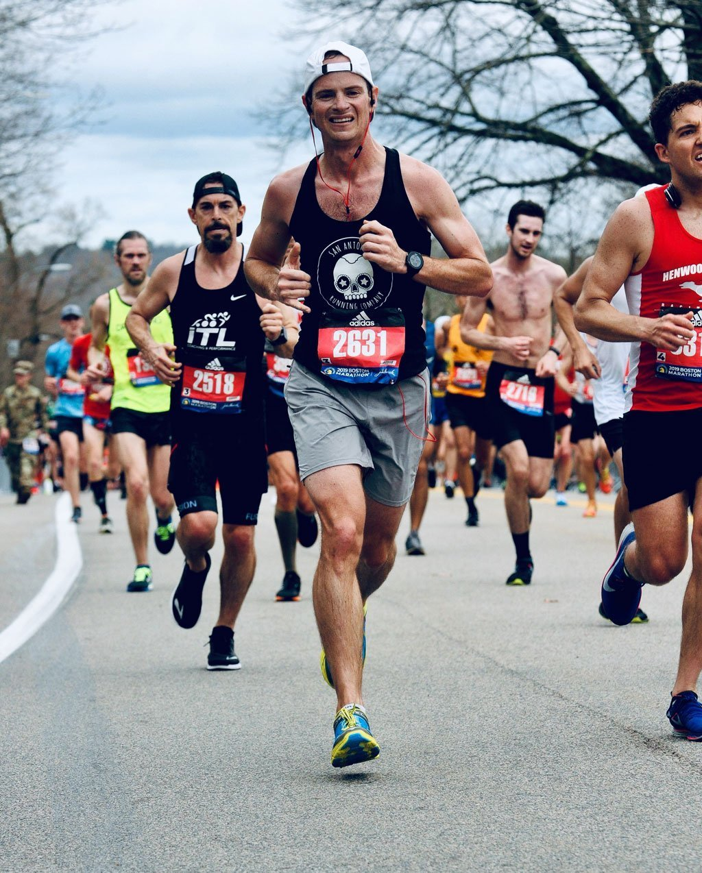 Andy hooks running a marathon race on Extramilest podcast