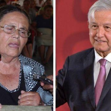 """AMLO responde a la madre de """"El Chapo"""" sobre petición de repatriación de Joaquín"""