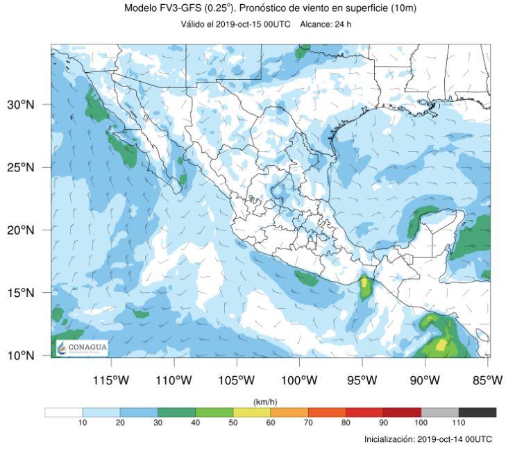 Nuevo frente frío provocará descenso de temperatura en el norte y noreste del país; para Sinaloa hoy prevén lluvias aisladas