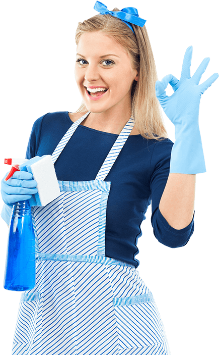 vacation rental cleaner