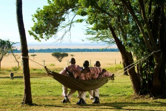 Staff at Kichwa Tembo Masai Mara
