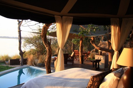 Cassia Suite at Chongwe River Camp