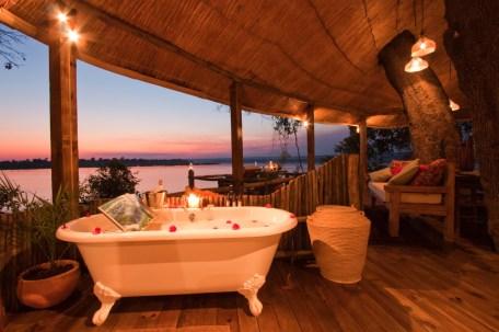 Bathroom at Tongabezi