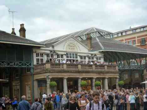 A Lovely Day in Covent Garden